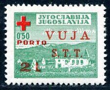 TRIEST B ZWANGSZUSCHLAGPORTO 1948 1 ** POSTFRISCH signiert 350€(S1411