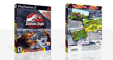 Jurassic Park: Operation Genesis PS2 Spare Game Case Box + Cover Art (No Game)