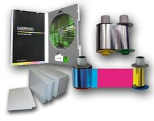 Fargo HDP5000 Supplies: Color ribbon, Transfer film, PVC cards, software