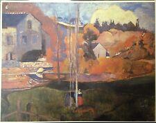 Paysage De Bretagne By Paul Gauguin