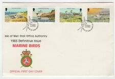 1983 Sep 14th. First Day Cover. Isle of Man. Marine Birds Issues.