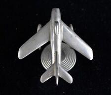 WW2 German Airplane Model Flugzeugmodell unique Trench Art Segelflugzeug Metal