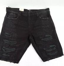 ba659f97573 Jordan Craig Mens 42 Shorts Legacy Denim Distressed Destroyed NWT Black Hip  Hop