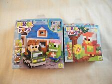Pixel Pops Bundle Zombie Invasion and Parrot - Both are New In Box