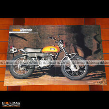 YAMAHA 250 DT 1 DT1 (1968) - Poster Moto Trail Bike #PM1478