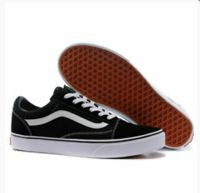 VAN Old Skool Skate Shoes Black All Size Classic Canvas Sneakers UK3-UK9