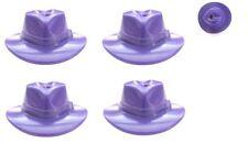 LEGO 4 Viola Fedora Cappelli rimosso da Batman Joker minifig Portachiavi