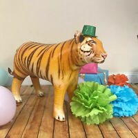 Jet Creations Inflatable Bengal Tiger Big Cat Air Stuffed Plush Animal Toy Party