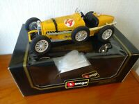 BUGATTI Grand Prix (1935) - 1:18 scale die cast metal model - from BURAGO - RARE