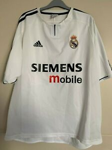 Maillot Real Madrid 2003-2004 vintage Adidas jersey size L