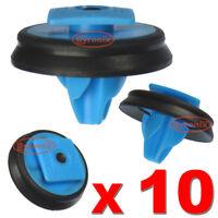 WHEEL ARCH MOULDING PLASTIC TRIM CLIPS FOR FIAT PANDA 500L EXTERIOR WING X10