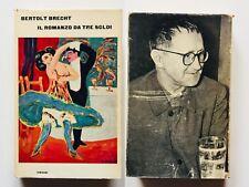 Bertolt Brecht Il romanzo da tre soldi Einaudi 1963 Franco Fortini quarta ed