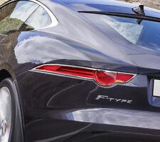 IDFR Jaguar F-Type F type 2016~on Chrome frame bezel for tail lights