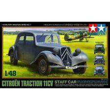 Tamiya 32517 Citroen 11CV coche personal de tracción 1/48 escala kit plástico modelo