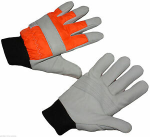 Chainsaw Protective Gloves L Large Size Professional Quality