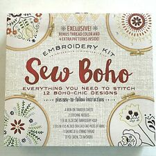Sew Boho Complete Embroidery Kit