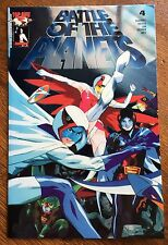 Battle of the Planets - Top Cow 2002 Vol. 1 Issue #4 Blue Foil Variant