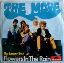 "7"" 1966 GERMAN PRESS VG+ ! THE MOVE Flowers In The Rain"