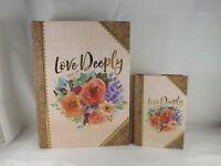 Ashland Book Keepsake Decorative Box - New - Love Deeply