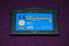 BARBIE HORSE ADVENTURES : THE BIG RACE - Vivendi - Jeu Equitation GBA EUR