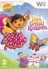 Dora The Explorer Dora Saves the Crystal Kingdom Game Nintendo Wii PAL Brand New