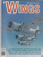 Wings Mag Combat Fighter Tactics Luftwaffe Comet  April 1977 092319nonr