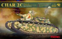 Meng TS-009 Model 1/35 French Super Heavy Tank CHAR 2C w/Xtras Super WAR