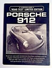 PORSCHE 912: ROAD TEST(Limited Edition Series), 1998 - VG/pb