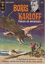 Gold Key BORIS KARLOFF Tales of Mystery #17 March 1967