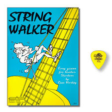 Cees Hartog String Walker easy pieces for classical guitar + DUNLOP PLEKTRUM