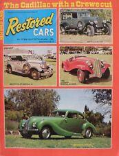 Restored Cars Magazine No 21 March/April 1977 20% Bulk Magazine Discount