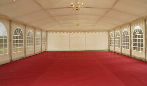 Marquee flooring: 4x4m/4x6m New carpet (red, green or honeybeige available)
