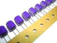 10pcs 330uF 6.3v 105c Sanyo OSCON Radial Electrolytic Capacitors NEW