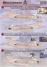Print Scale Decals 1/72 BLACKBURN BUCCANEER British Jet Fighter