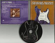STEVIE RAY VAUGHAN w/ Dr. John Dirty Pool RADIO PROMO DJ CD single 1997 MINT