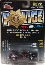 Chevy Camaro 1968 Police Dare Car RACING CHAMPIONS FREE SHIPPING #24