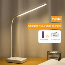 LED Dimmable Reading Desk Lamp Flexible Touch Bedside Table Study Night Light