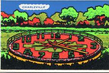 Carte CHARLEVILLE MEZIERES L'Horloge en feutrine