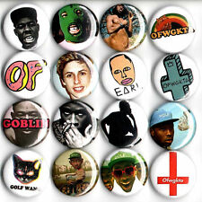OFWGKTA Tyler the Creator button pin set of 16 Earl Sweatshirt Odd Future golf