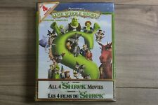 Shrek: The Whole Story (Blu-ray Disc, 2011, 4-Disc Set, Bilingual)