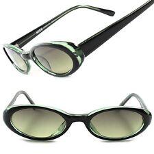 Black 60's Old Vintage Retro Fashion Rockabilly Womens Small Cat Eye Sunglasses