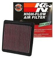 K&N High Flow AIR FILTER FOR Subaru Outback 2.5L (2003 09/03-08/09) BP9. Petrol.
