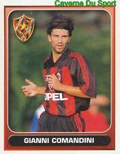 230 GIANNI COMANDINI ITALIA AC.MILAN FIGURINE STICKER CALCIO MERLIN 2000-2001