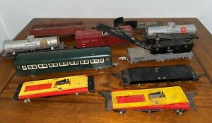 LOT= AMERICAN FLYER S SCALE ROLLING STOCK - FREIGHT & PASSENGER - PARTS / REPAIR
