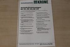 163369) Krone Zweiachs Dreiseitenkipper DK 185 210 220 - Verkaufsargumente - Pro
