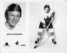 John Van Boxmeer team Canada 1972 8x10 Photo