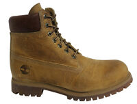 Timberland 6 Inch Lace Up Mens Wheat Leather Boots 27092 T3