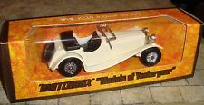 MATCHBOX - MODELS OF YESTERYEAR - 1936 JAGUAR SS-100 CAR  - Y-1 - BOXED - 1:38