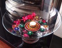 DIWALI DECORATION TEA LIGHT CANDLE FLOATING HOLDER HOME WEDDING DECOR FOR EVENTS