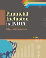 FINANCIAL INCLUSION IN INDIA - MANI, N. - NEW HARDCOVER BOOK